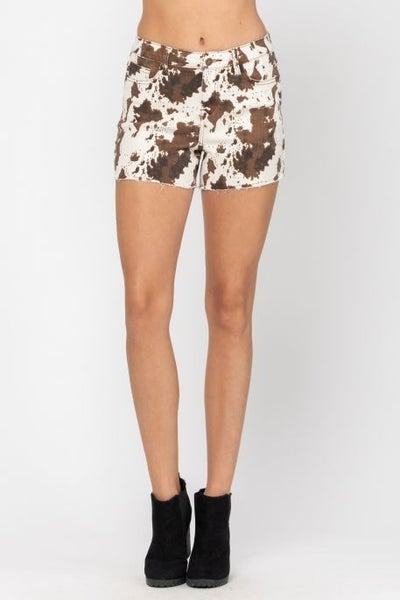 Cowgirl Printed Shorts