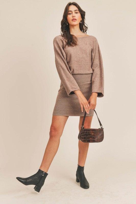 Sweater Weather Knit Dress