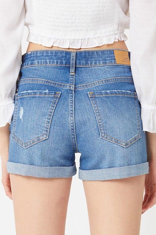 My Blue Denim Shorts