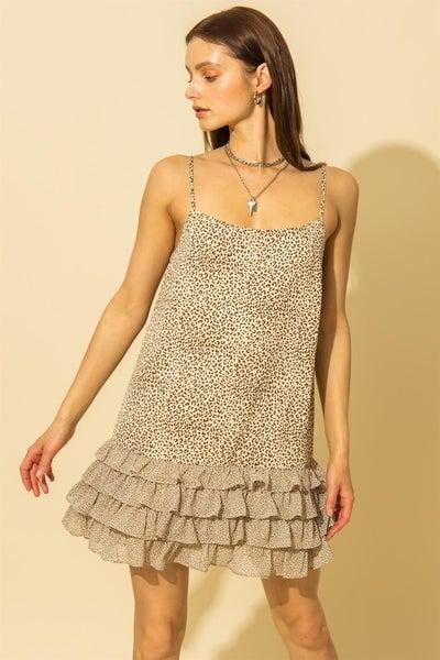 Runnin' Wild Ruffle Dress