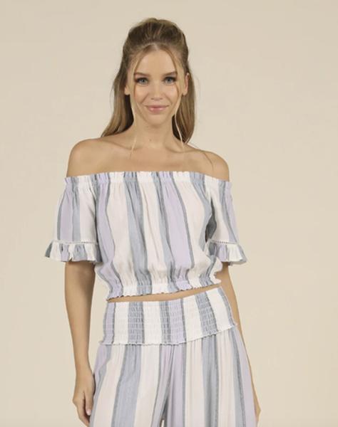 Summer Stripe Top