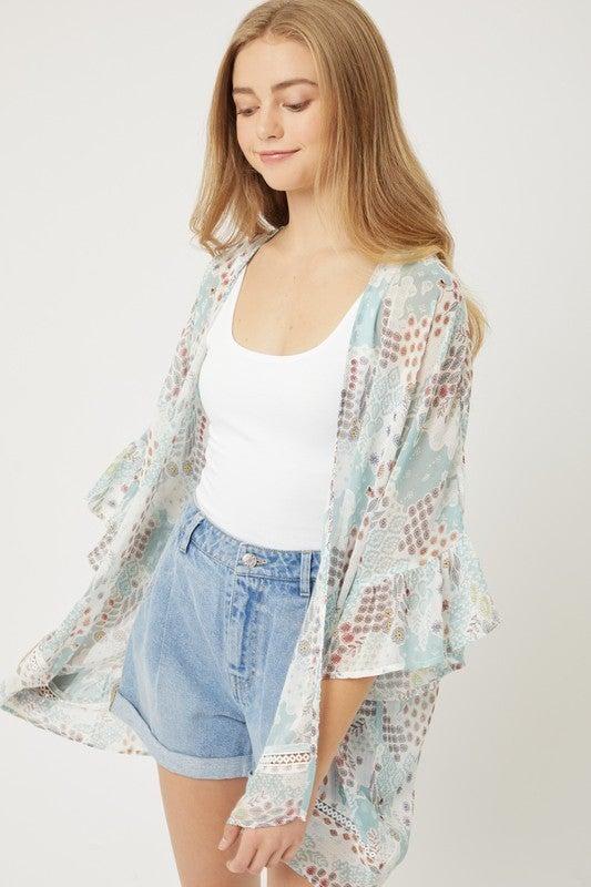 Just Vibe Kimono