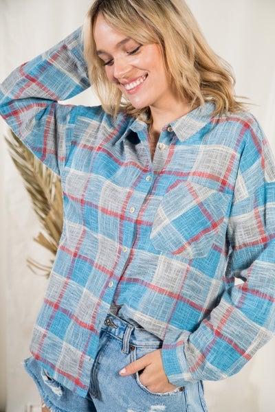 Zoe Multi Color Plaid Shirt