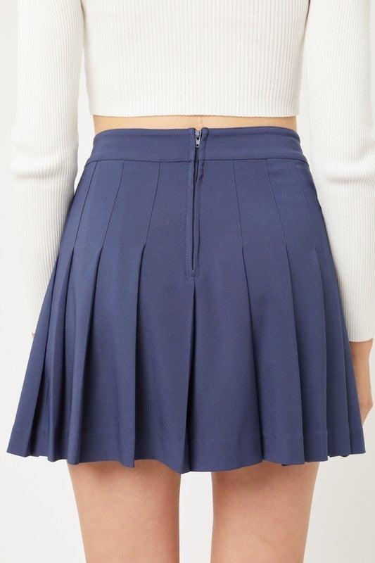 Patty Pleated Skirt