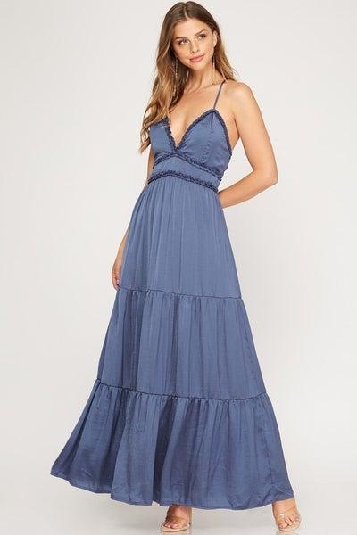 About Last Night Maxi Dress