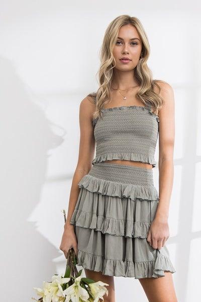 Eileen Top & Skirt Set