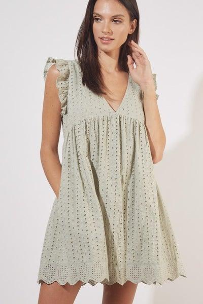 Lace Romper Dress *Final Sale*