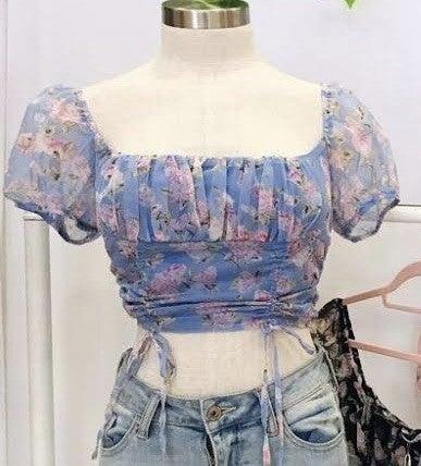 Belle Floral Top