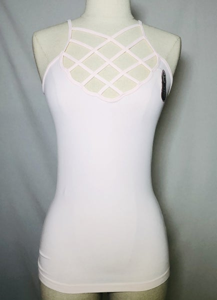 Criss Cross Caged Cami