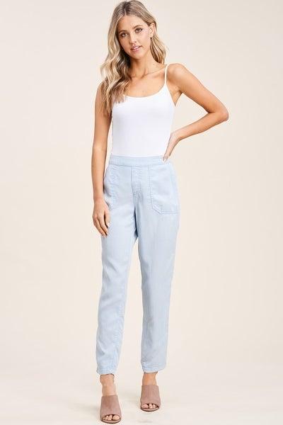 Spring Garment Dyed Pants *Final Sale*