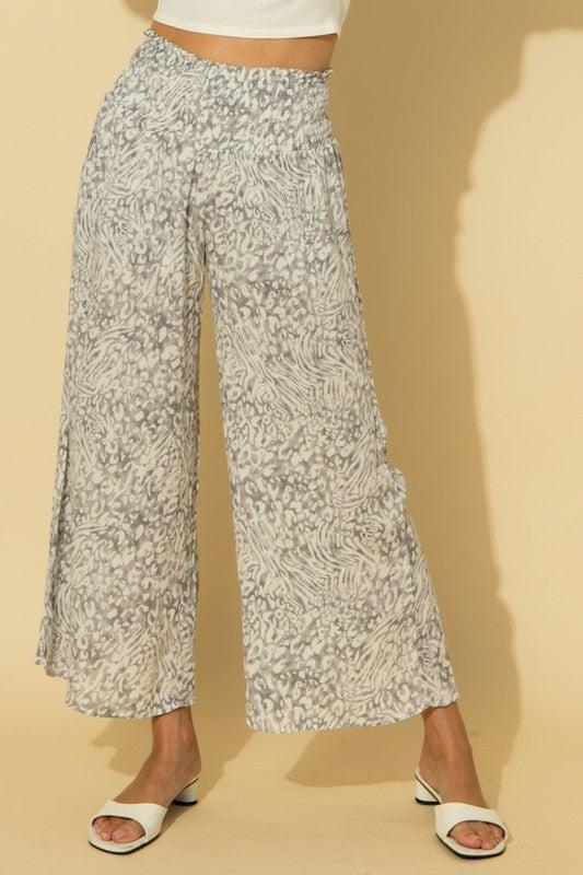 Wide Print Pants *Final Sale*