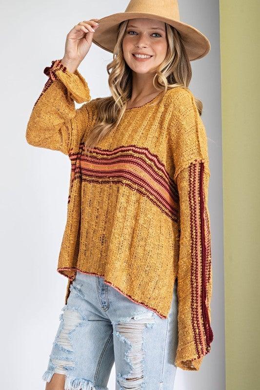 Retro Stripe Sweater
