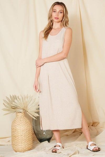 Jessie Rib Maxi Dress