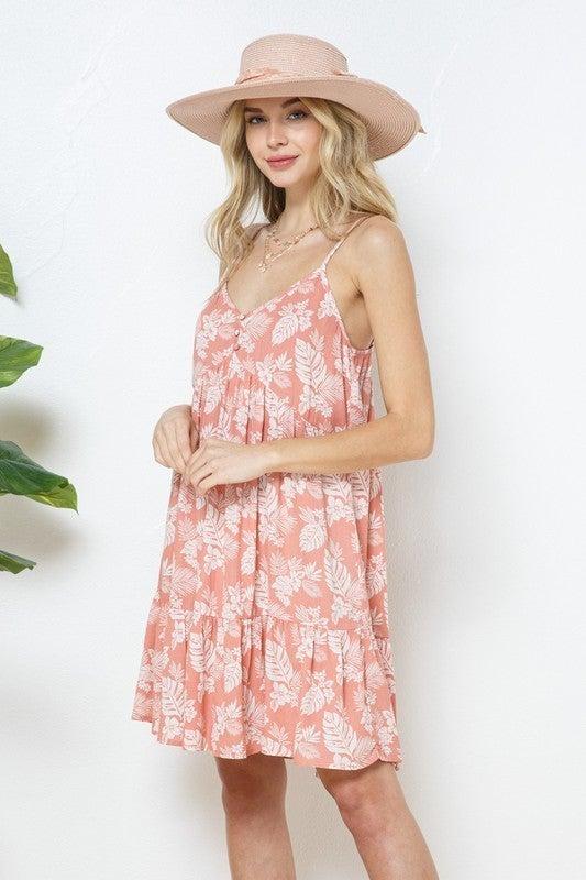 Leaf You To it Mini Dress