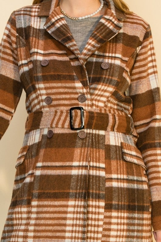 Fall Forward Belted Jacket