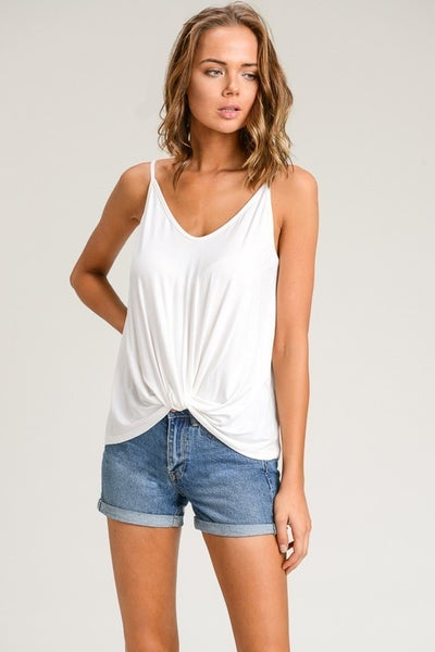 Front Knot Tank