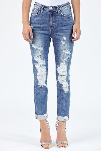 Roll Up Skinny Jean