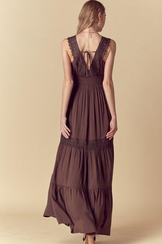 Lindsay Tiered Maxi Dress