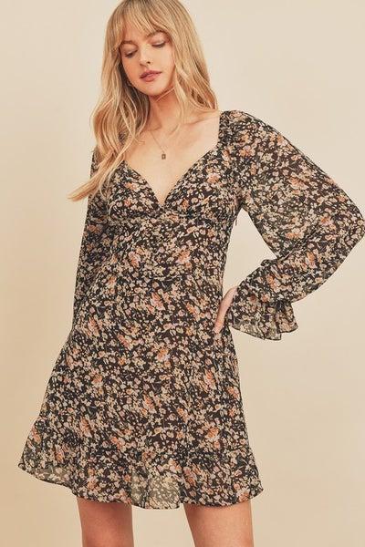 Fall Plunge Dress