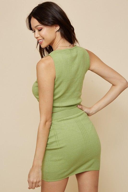 Kiwi Skirt Set
