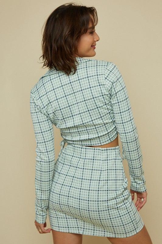 Jamie Mini Skirt Set