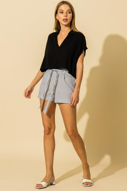 Hey Sailor Striped Shorts