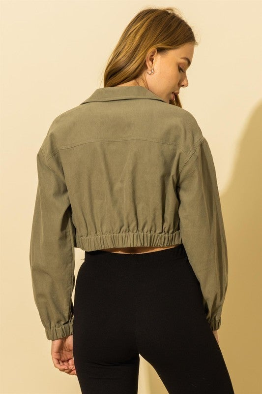 Darling Crop Jacket
