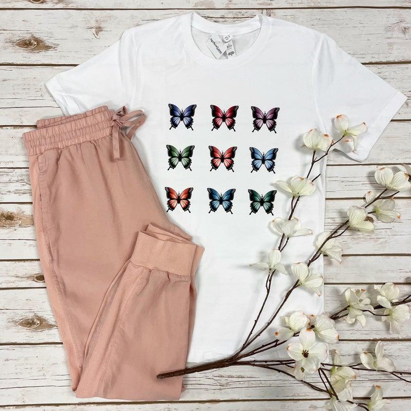 Butterflies Graphic Tee *Final Sale*