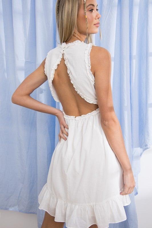 Mina Ruffled Dress