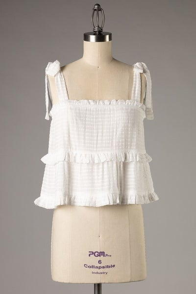 Totally Tiered Top *Final Sale*