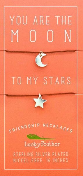 Friendship Necklace - Moon/Stars
