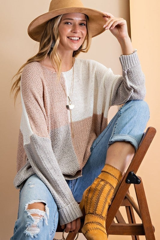 New on the Block Sweater Top