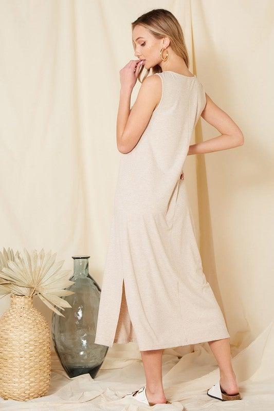 Jessie Rib Maxi Dress *Final Sale*