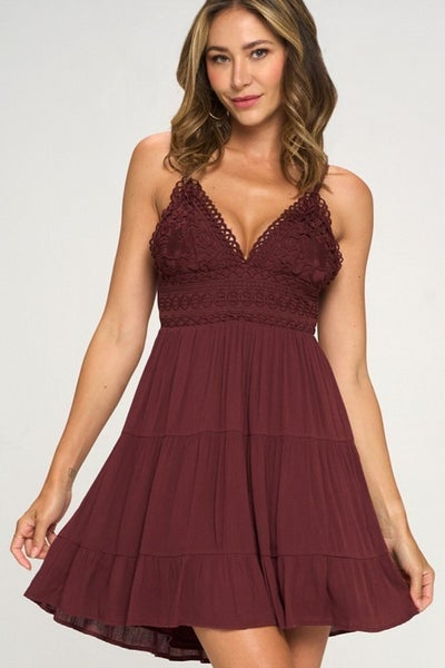 Chloe Crochet Dress