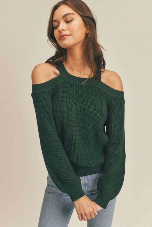 Wendy Cut-Out Sweater