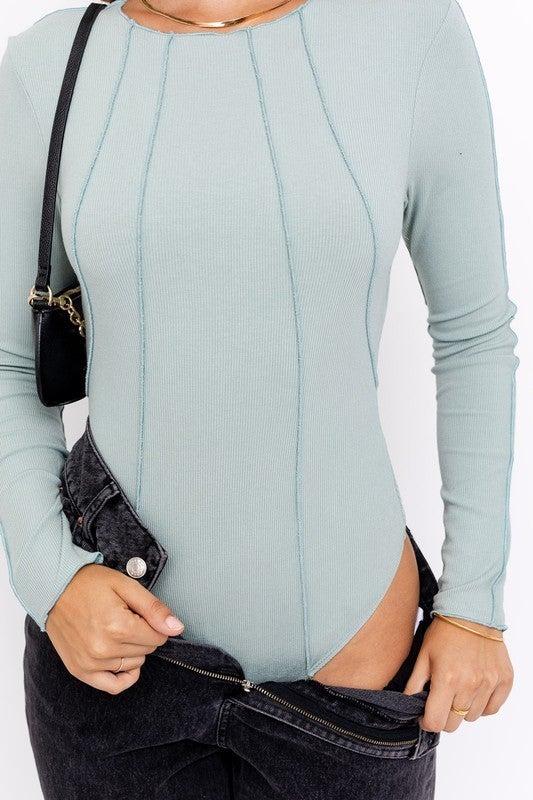Melbourne Seafoam Bodysuit *Final Sale*