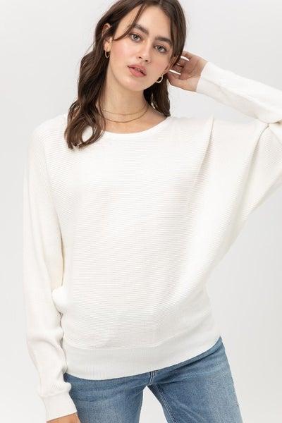 Brenda Dolman Sleeve Sweater