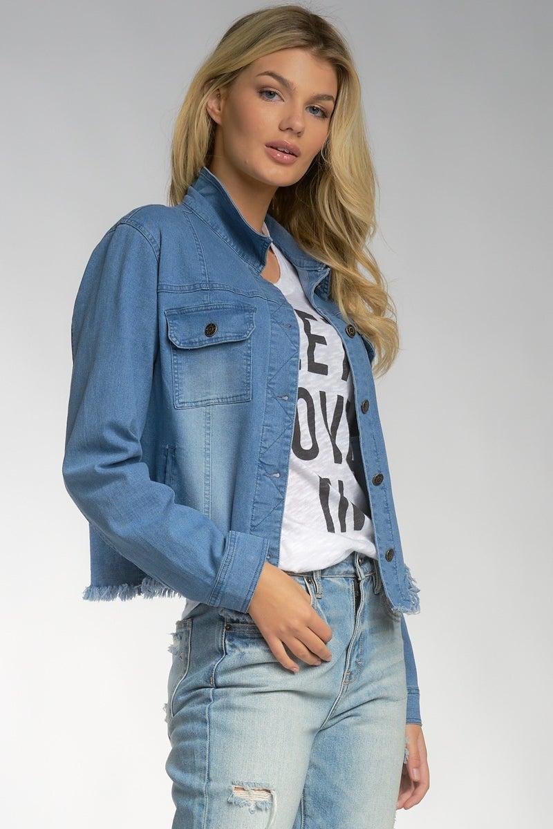 Stay Cool Denim Jacket