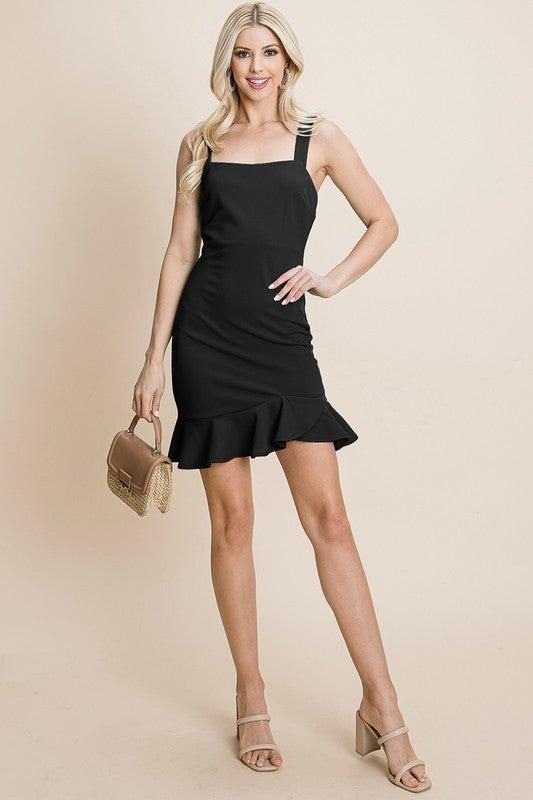 Lovely Ruffle Dress *Final Sale*