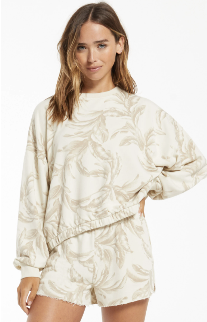 Mason Palm Pullover *Final Sale*