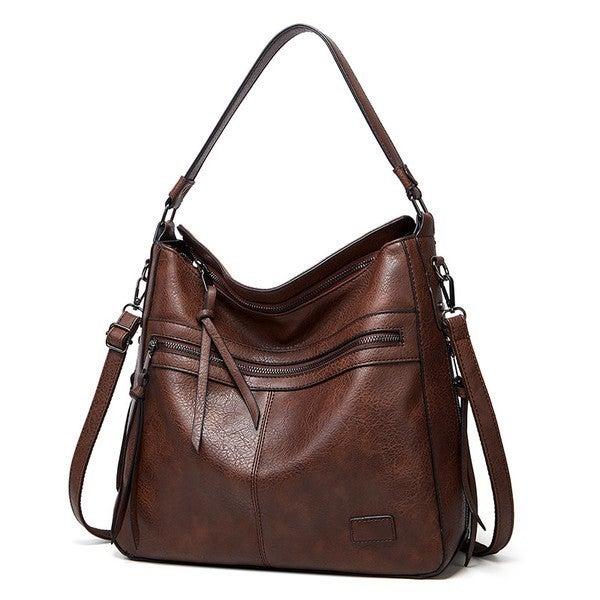 Saige Vegan Leather Handbag
