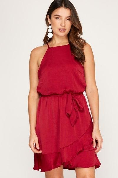 Glory Ruffle Dress