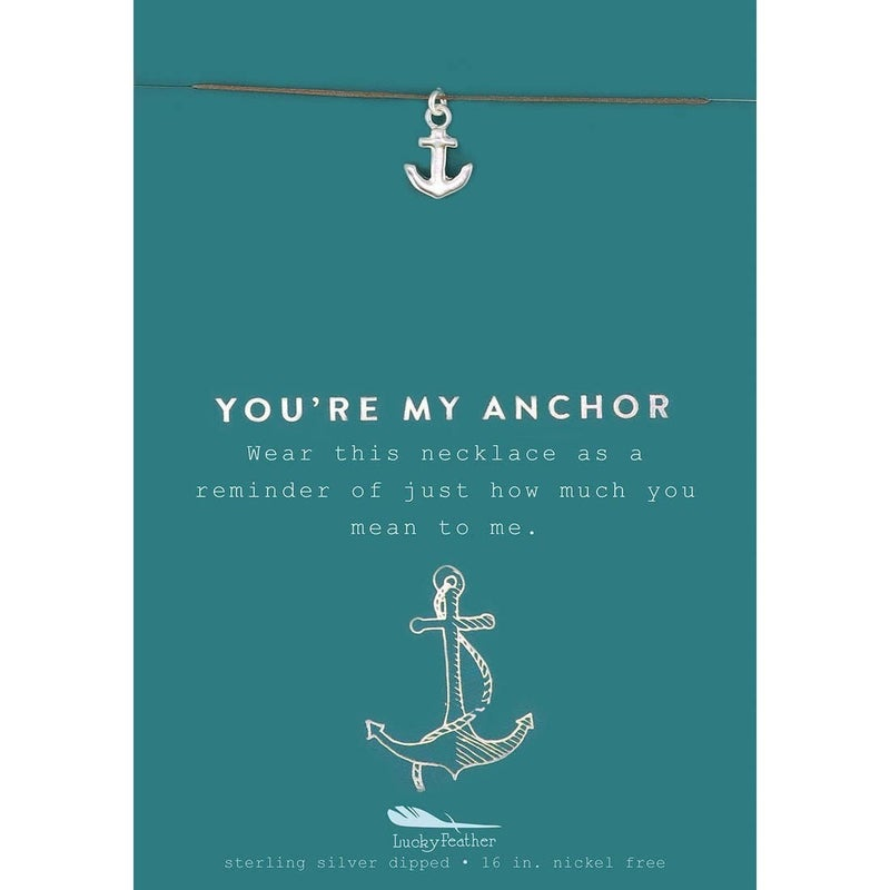 You're My Anchor Necklace