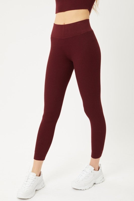 Polly Crop Sweater & Pants Set