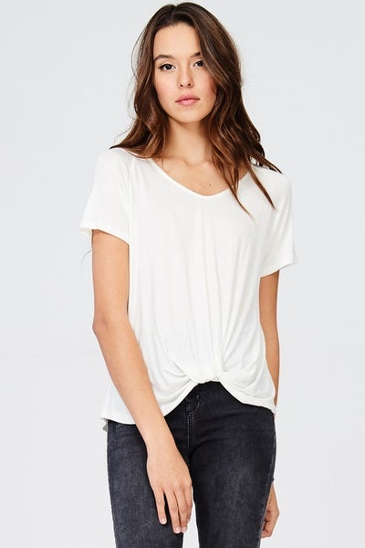 So Soft Knot Top
