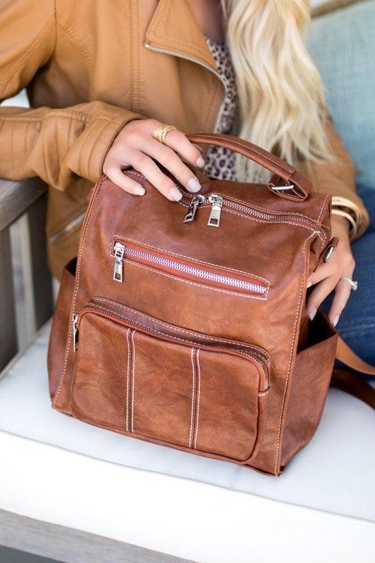 Rylee Convertible Backpack Bag