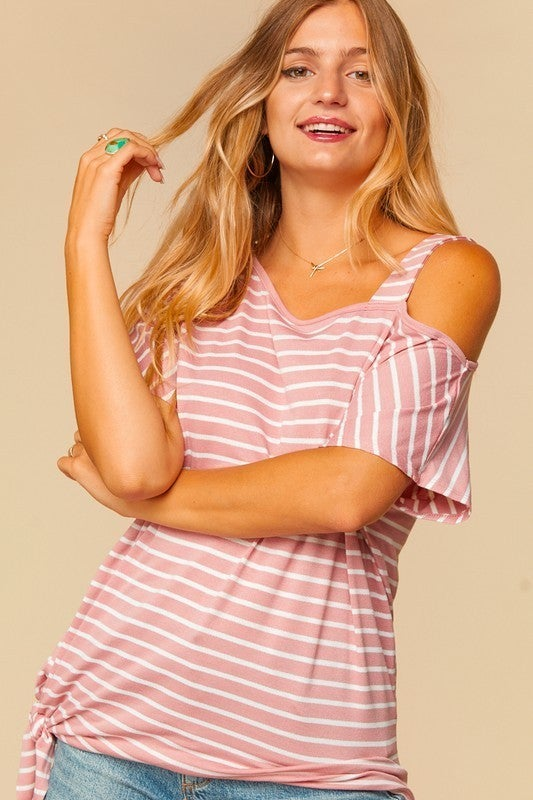 Gia One Shoulder Top