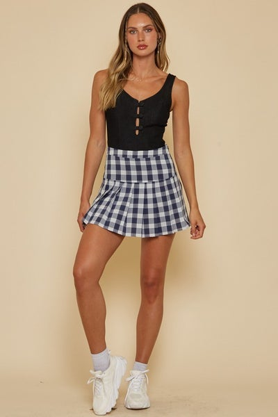 Check It Out Mini Skirt