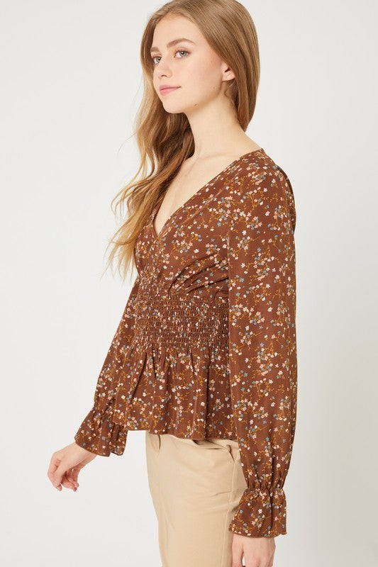 Willow V-neck Top