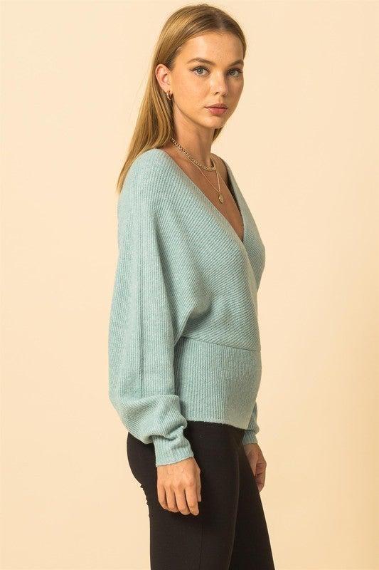 Brandy Balloon Sleeve Sweater